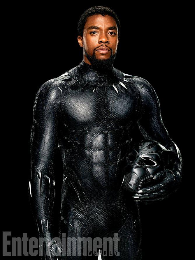 Black Panther: Chadwick Boseman interpreta T'Challa
