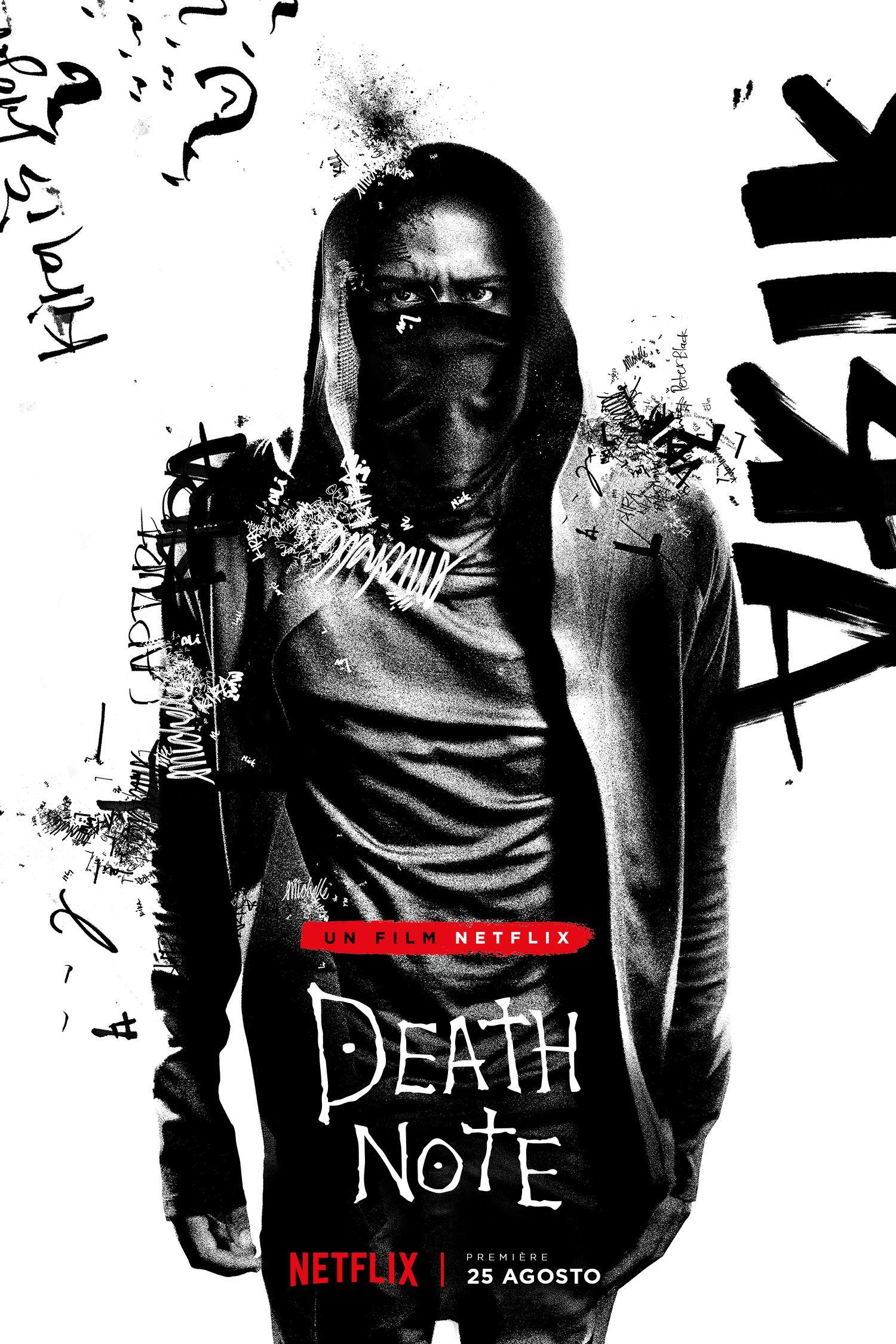 Death Note: il character poster di L, interpretato da Lakeith Stanfield