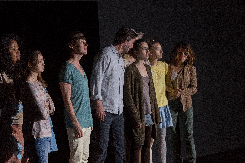 Fino all'osso: Lily Collins, Keanu Reeves, Alex Sharp e il resto del cast del film di Marti Noxon