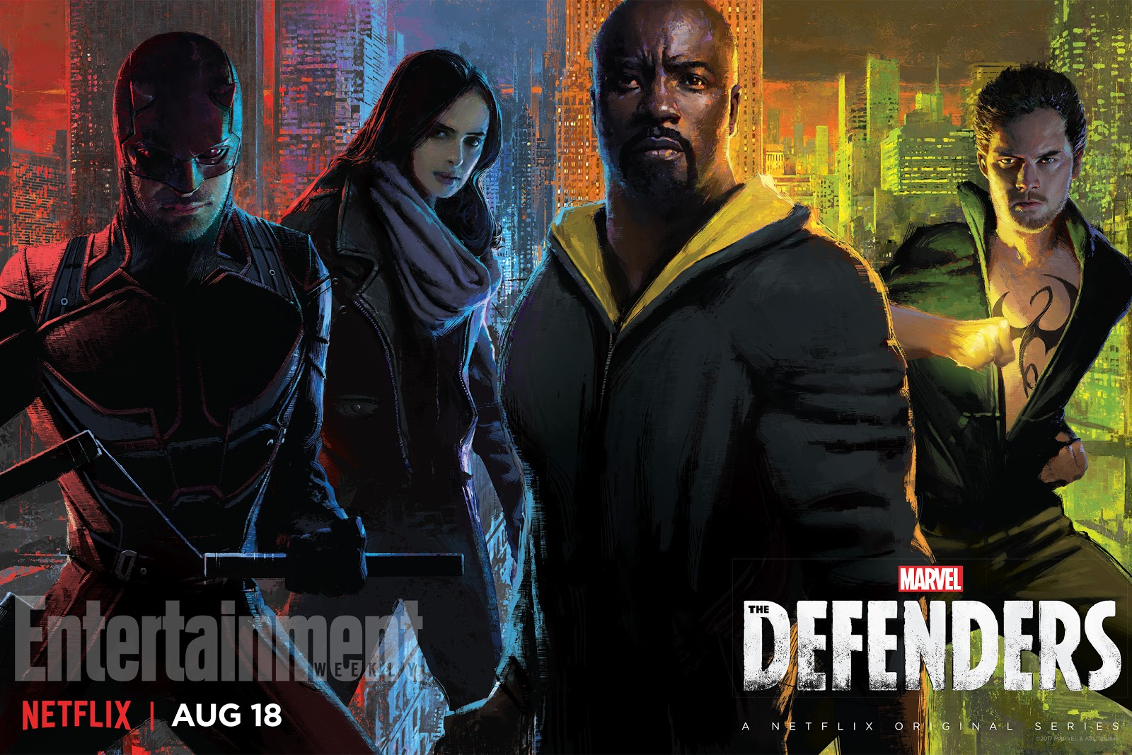 The Defenders: la locandina creata per il Comic-Con