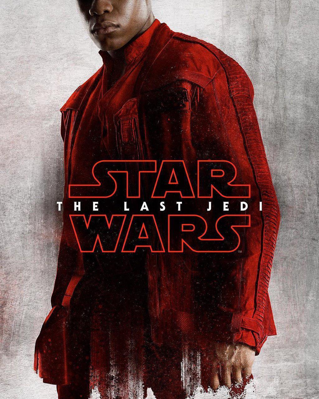 Star Wars: Gli Ultimi Jedi - poster di John Boyega