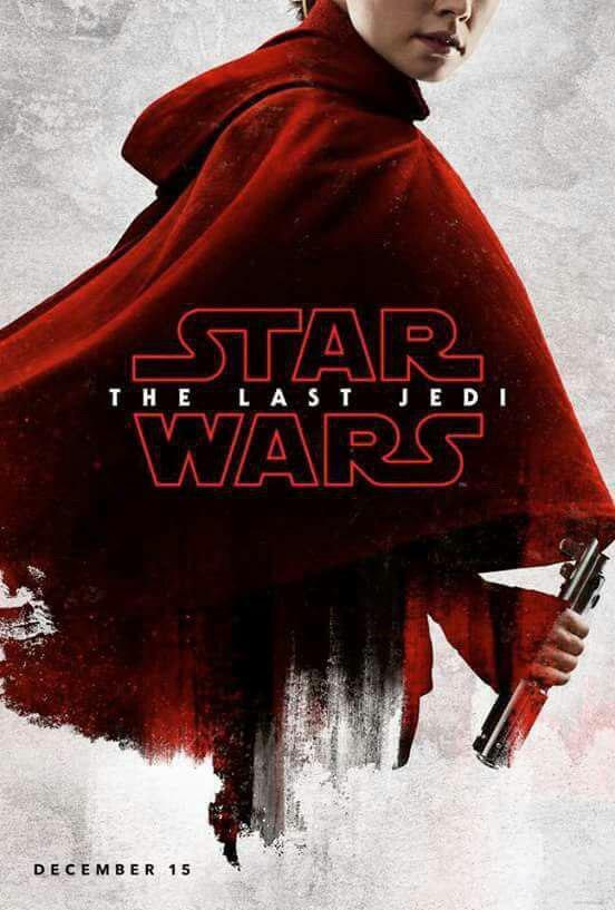 Star Wars: Gli Ultimi Jedi - poster di Daisy Ridley
