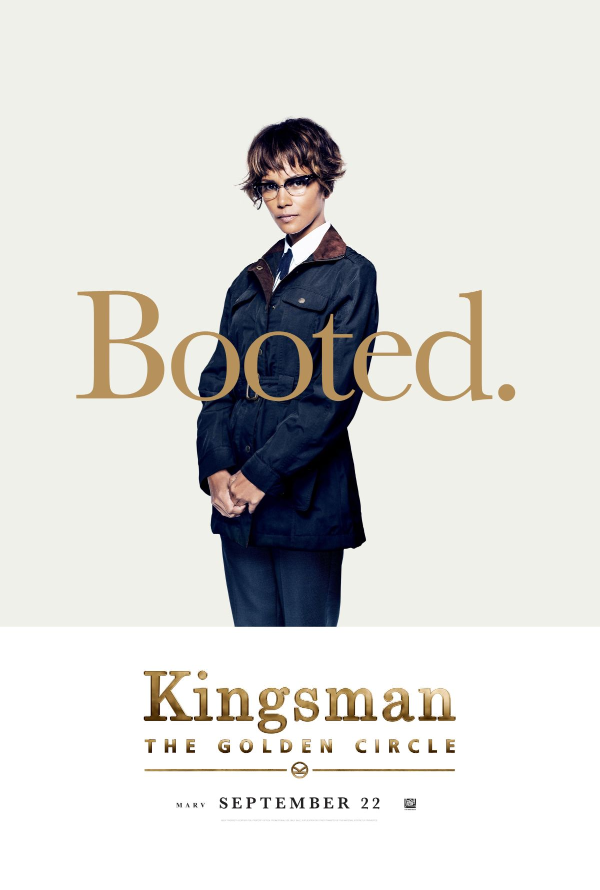 Kingsman: Il cerchio d'oro - Il character poster di Halle Berry