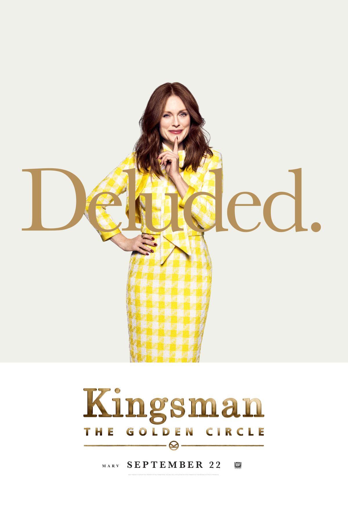 Kingsman: Il cerchio d'oro - Il character poster di Julianne Moore