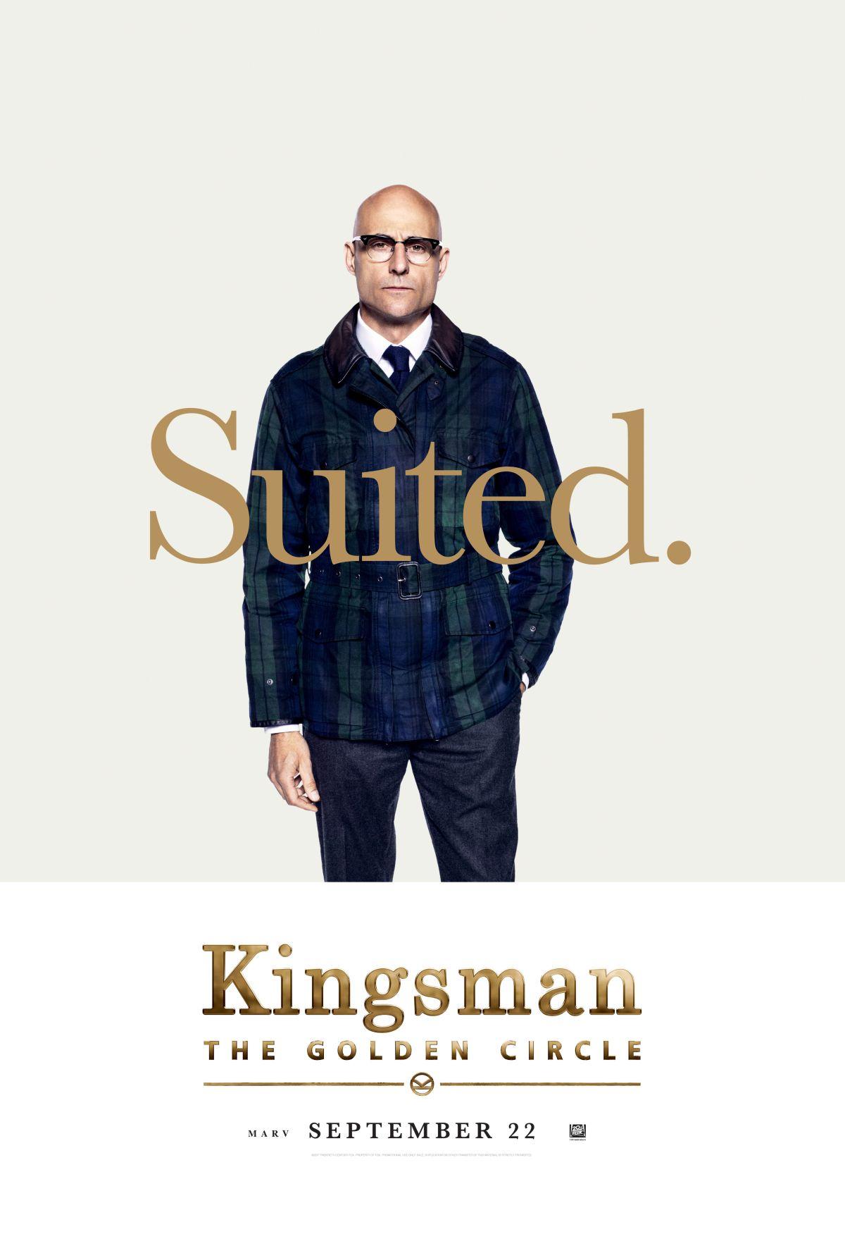 Kingsman: Il cerchio d'oro - Il character poster di Mark Strong