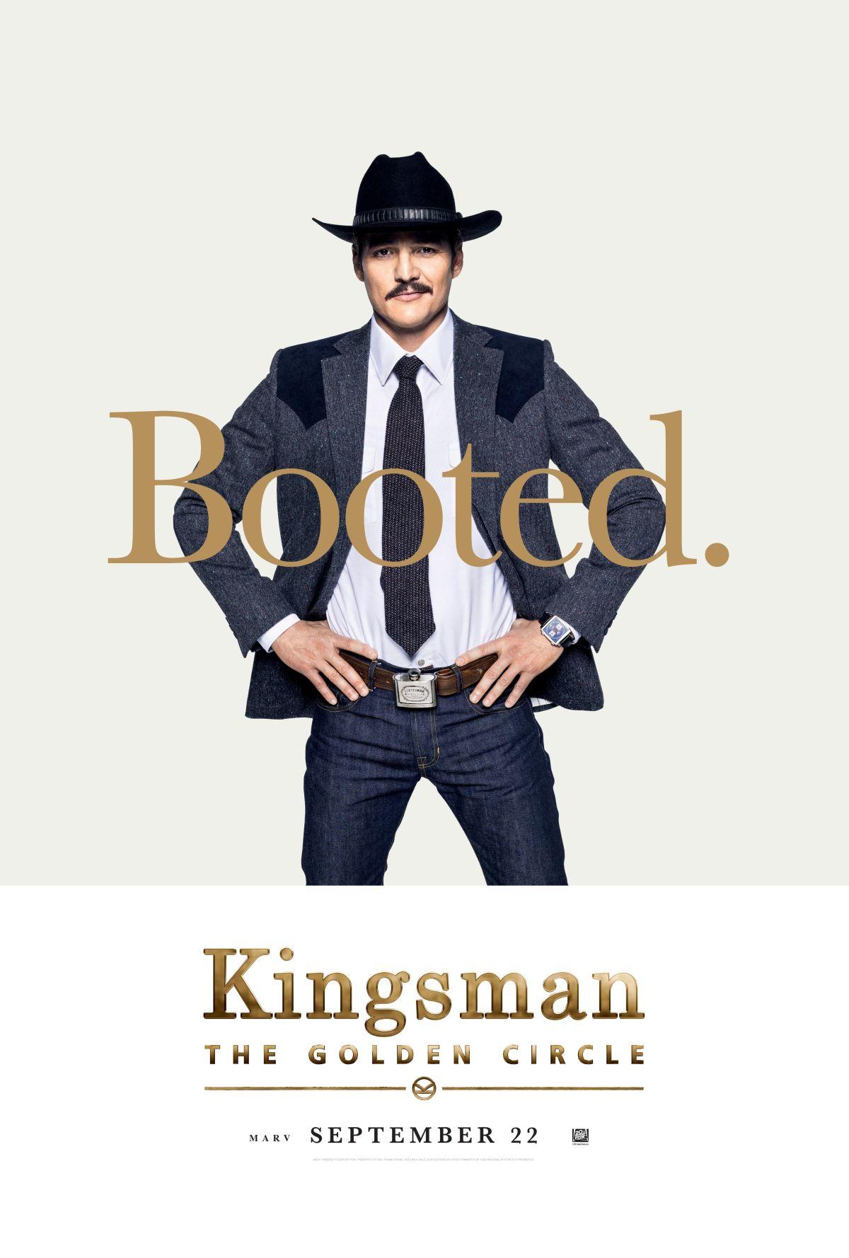Kingsman: Il cerchio d'oro - Il character poster di Pedro Pascal