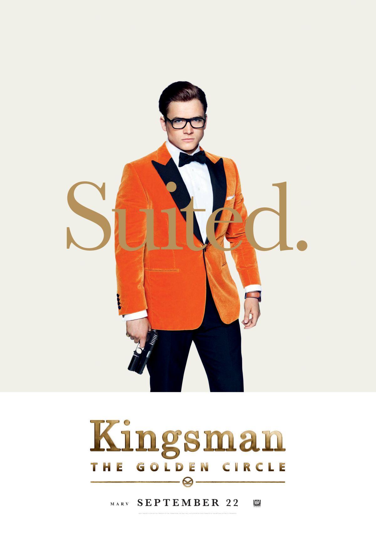 Kingsman: Il cerchio d'oro - Il character poster di Taron Egerton