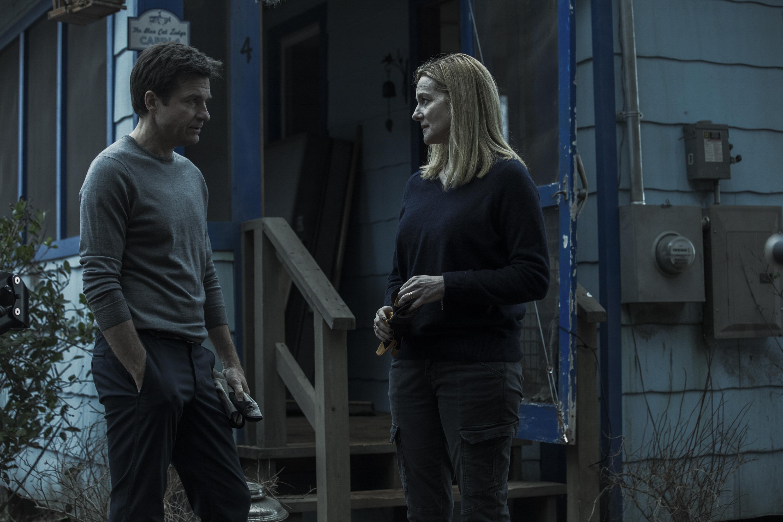 Ozark: Jason Bateman in una scena della prima stagione