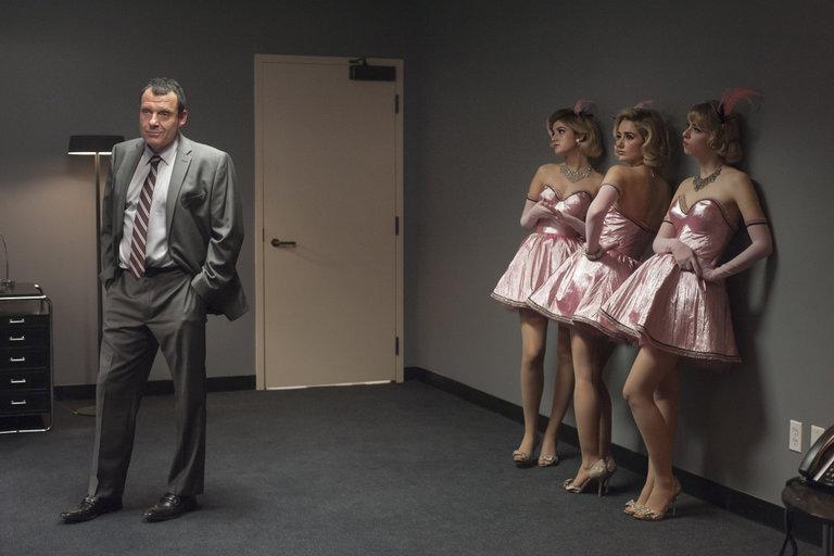 I segreti di Twin Peaks: Tom Sizemore ed Amy Shiels in un scena