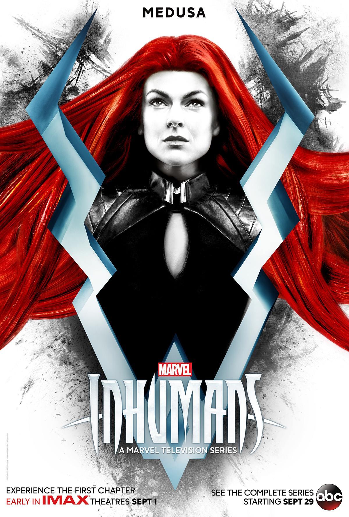 Inhumans: il character poster di Medusa