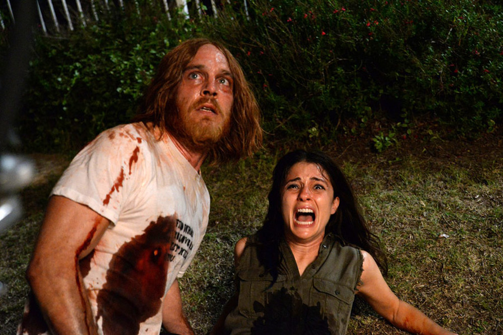 The Devil's Candy: Ethan Embry e Shiri Appleby in una scena del film