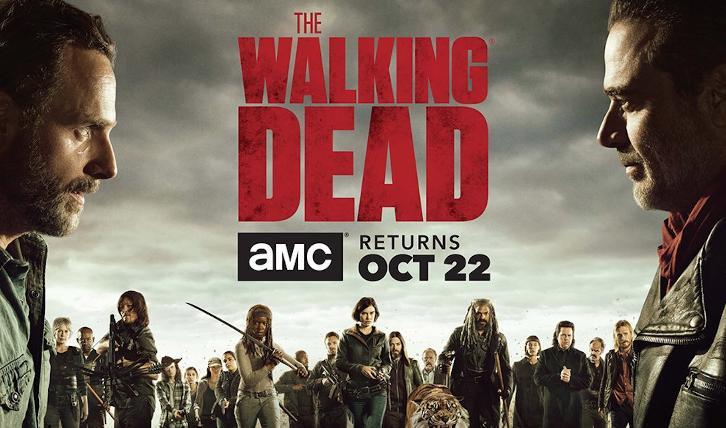 The Walking Dead: il banner dell'ottava stagione