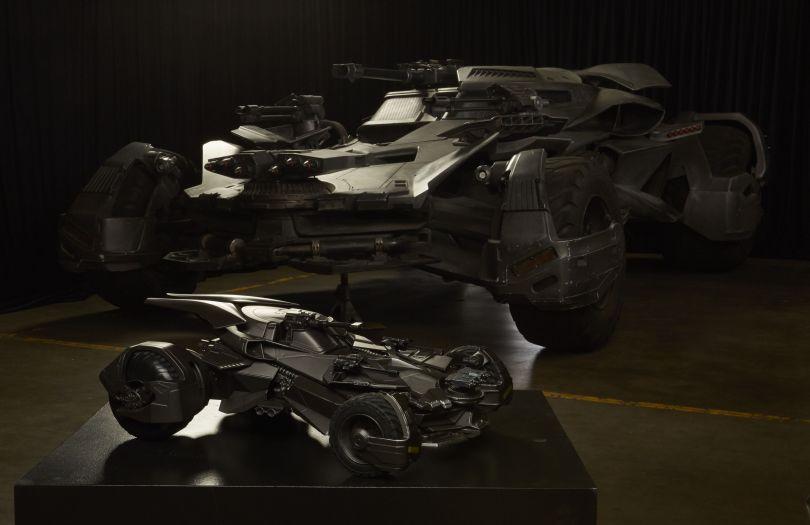 Justice League: la nuova Batmobile svelata al San Diego Comic-Con