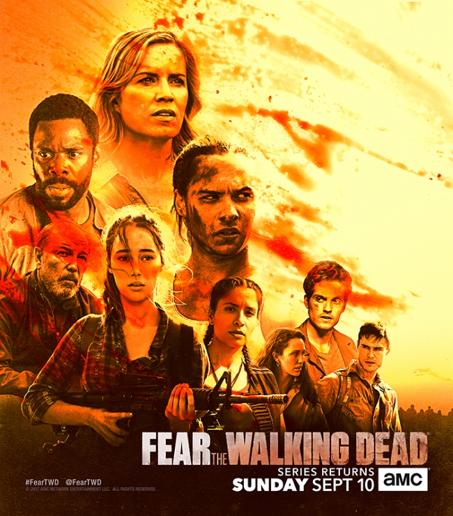 Fear the Walking Dead: il poster del San Diego Comic-Con