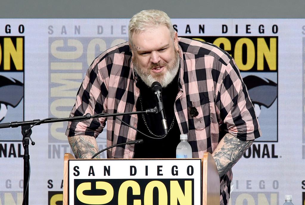 Kristian Nairn al Comic-Con 2017