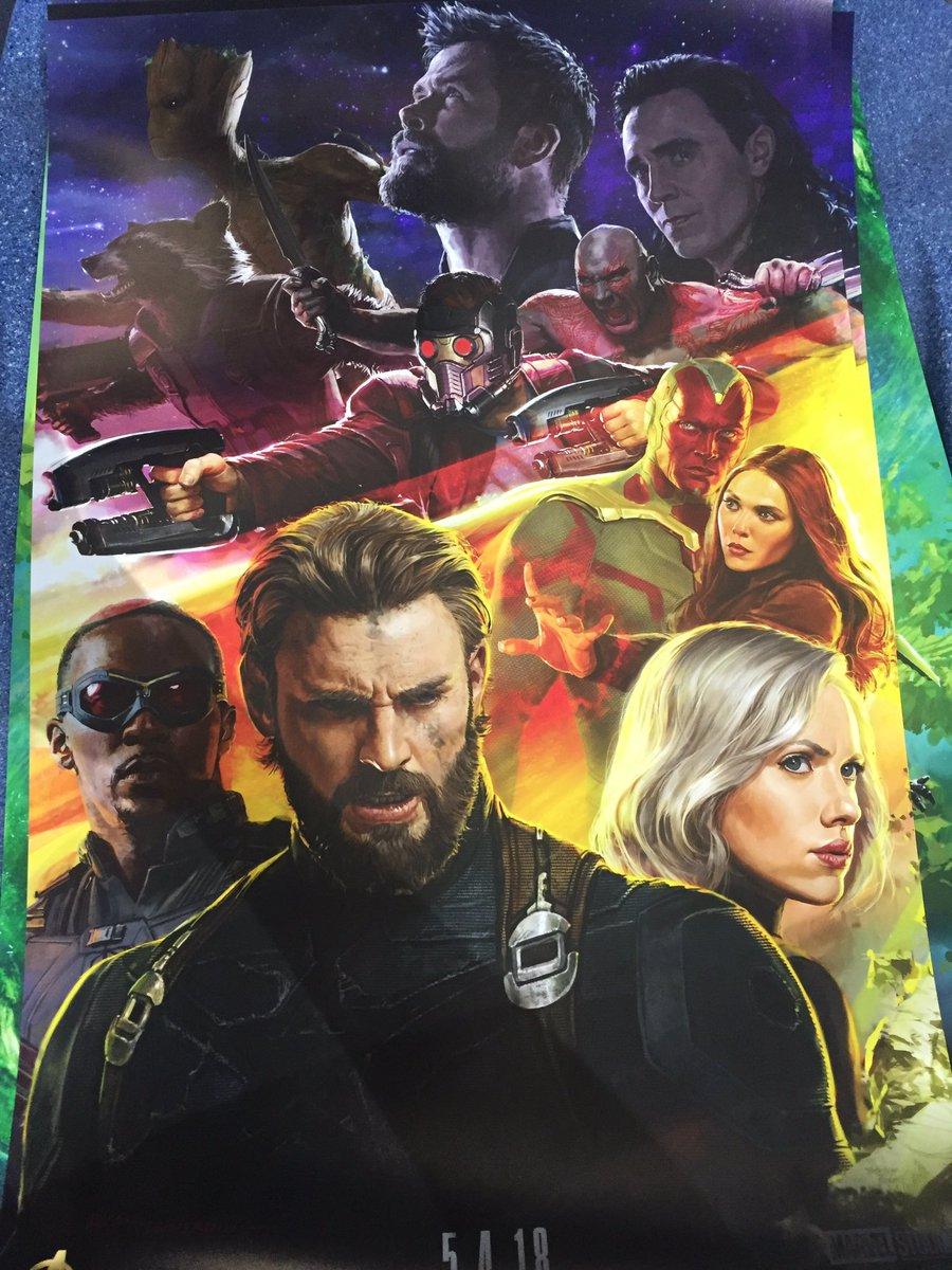 Avengers: Infinity War, uno dei poster realizzati per il Comic-Con