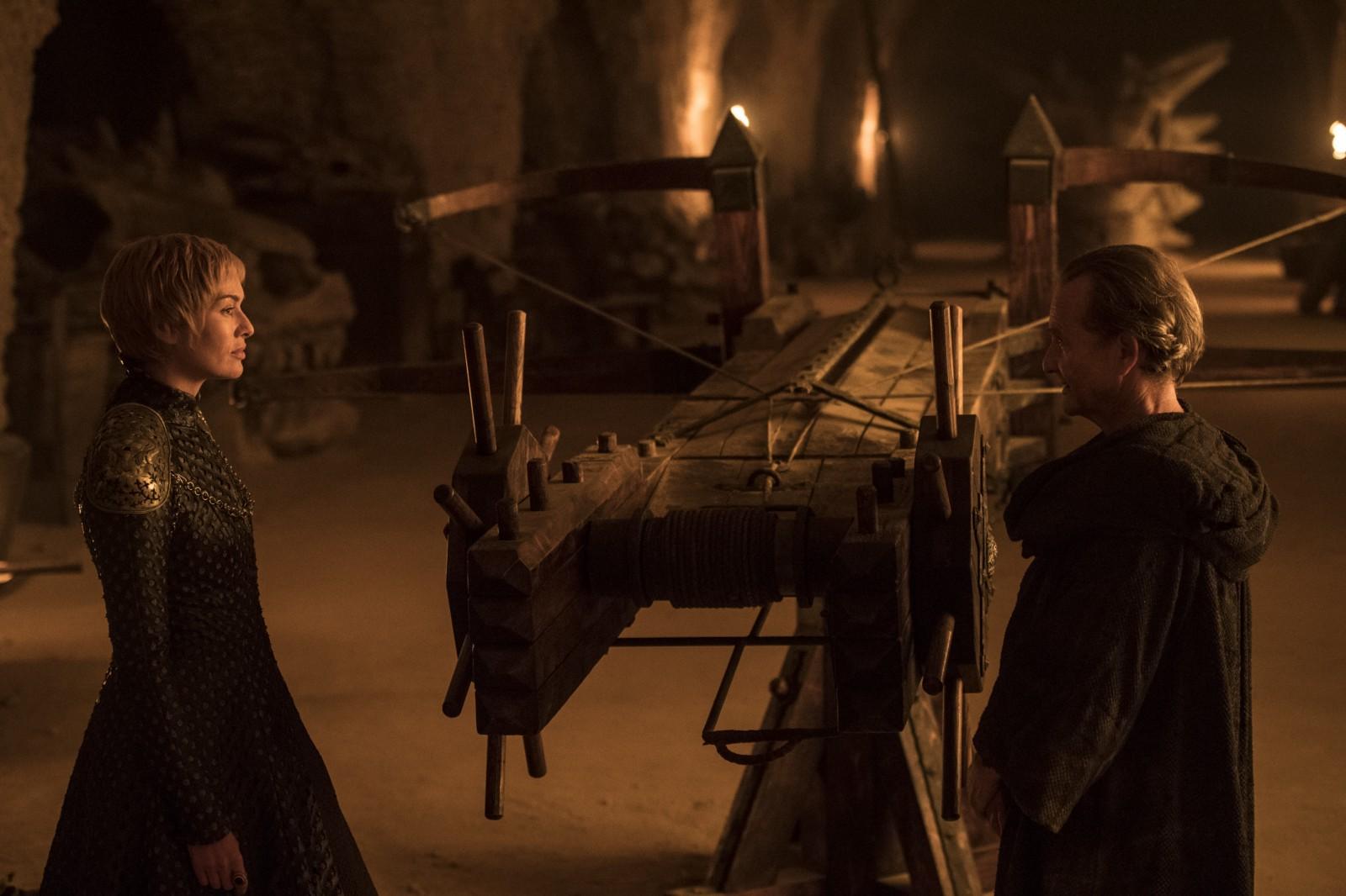 Il trono di spade 7: Lena Headey in una scena dell'episodio Nata dalla tempesta