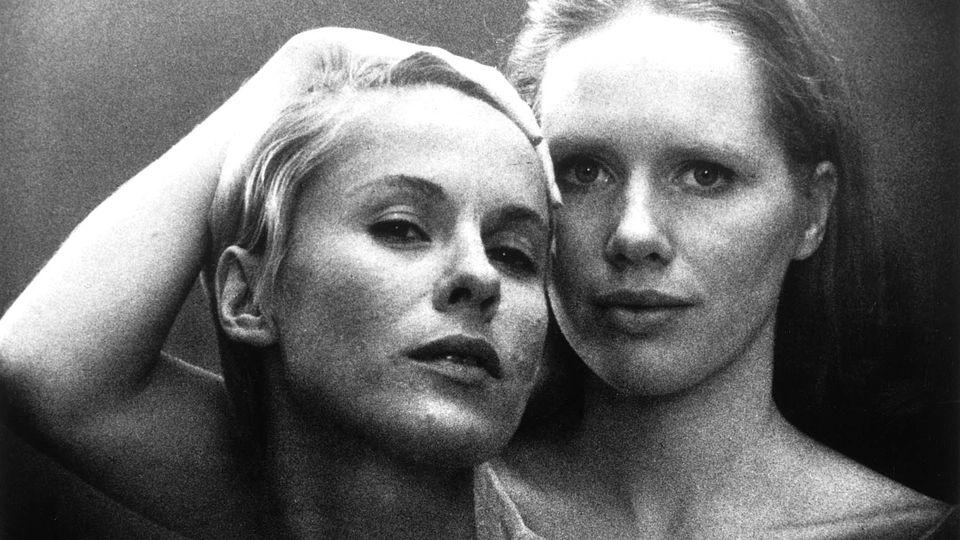 Persona: Liv Ullmann e Bibi Andersson in un'immagine del film