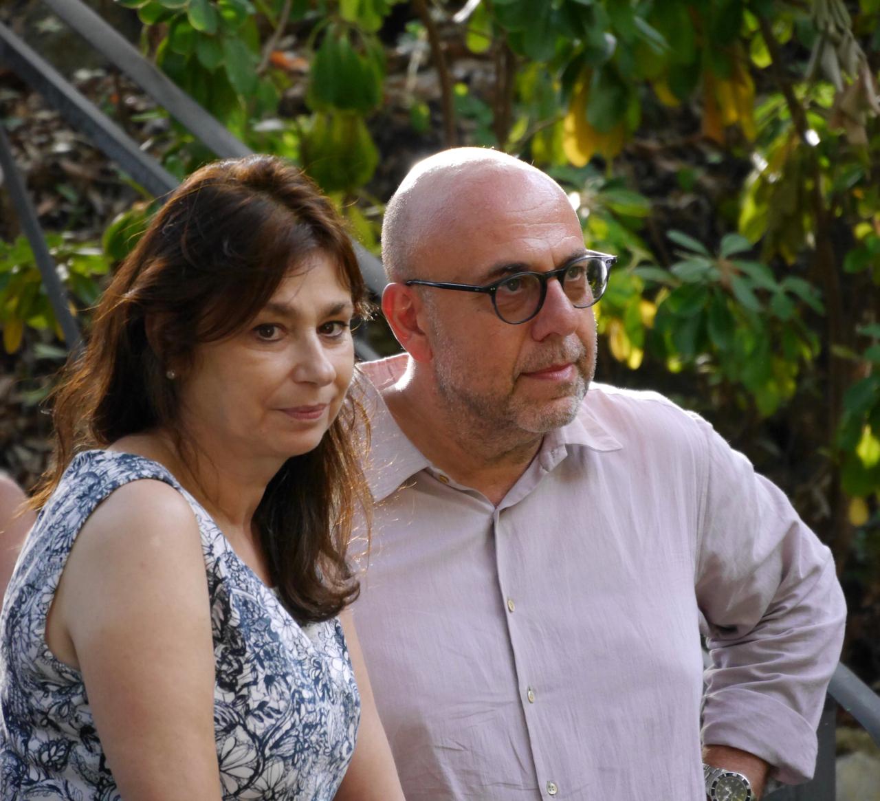 Paol Virzì e Francesca Archibugi a Castiglioncello