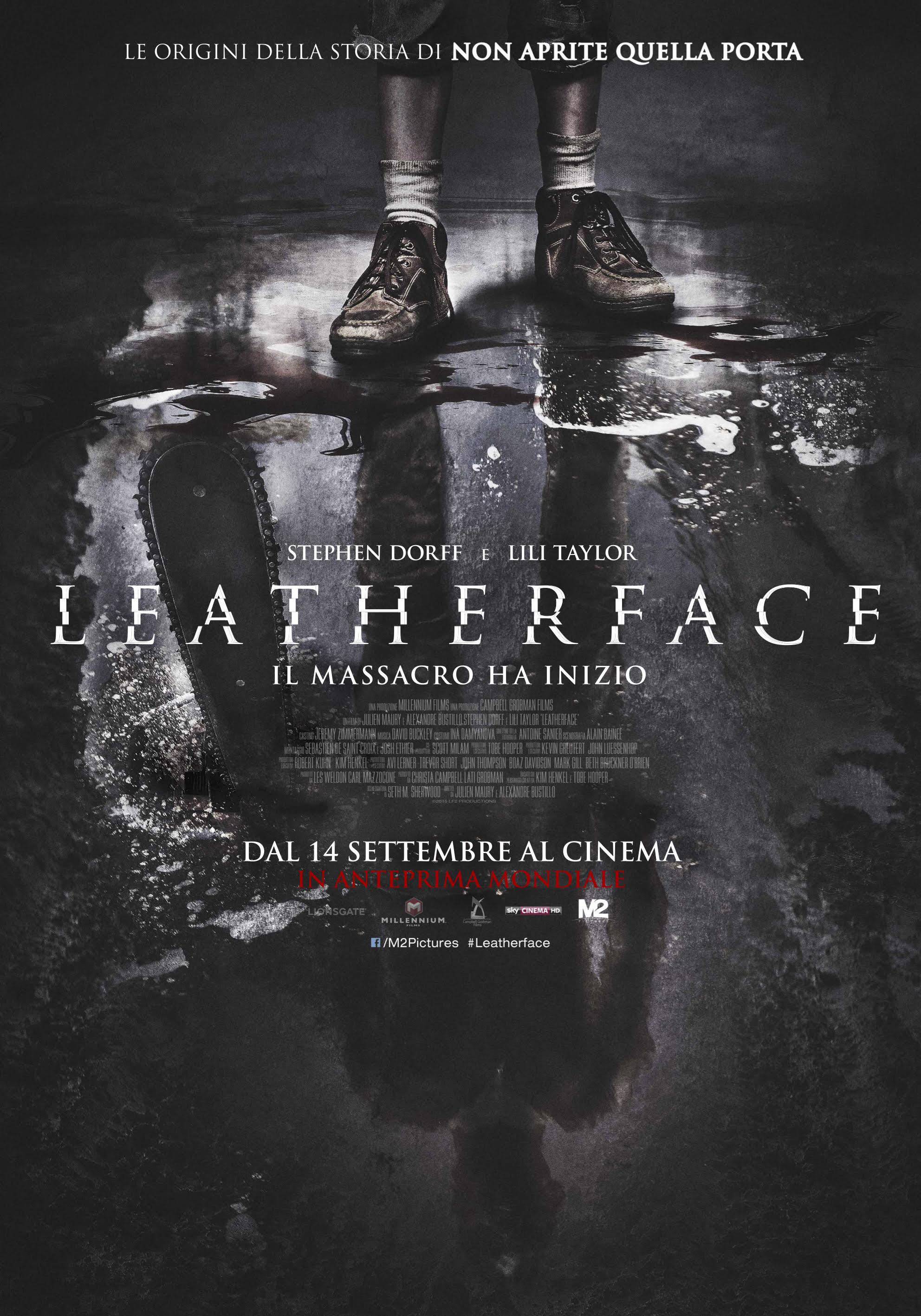 Leatherface: la locandina italiana