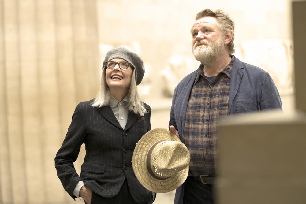Appuntamento al parco: Diane Keaton e Brendan Gleeson in una scena del film