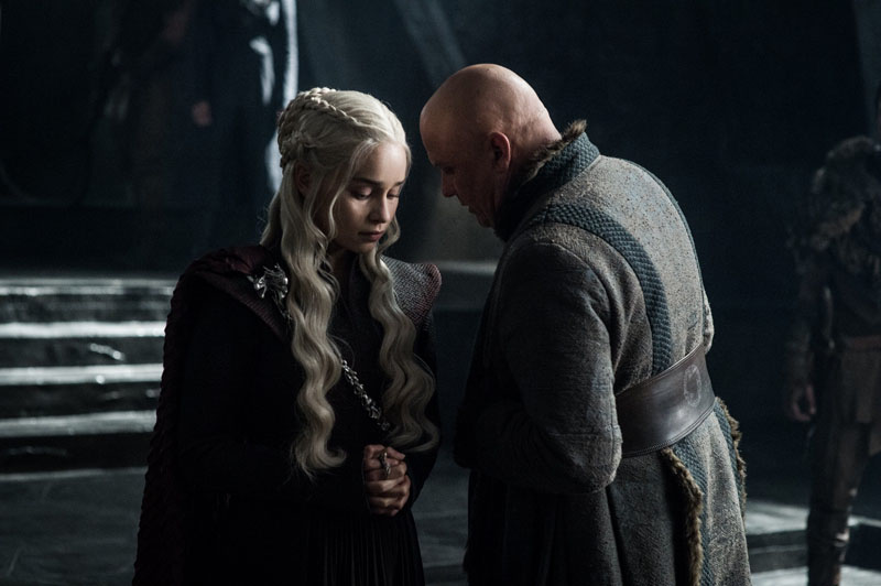 Il Trono di Spade: Daenerys e Varys in The Queen's Justice