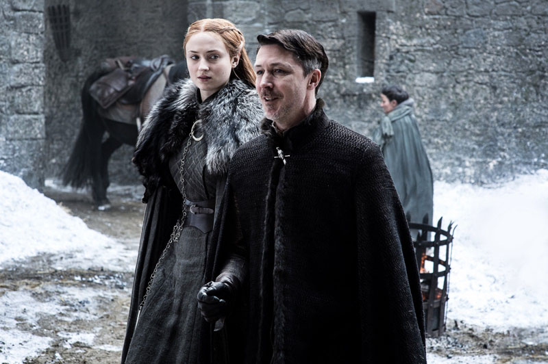 Il Trono di Spade: Sansa e Ditocorto in The Queen's Justice