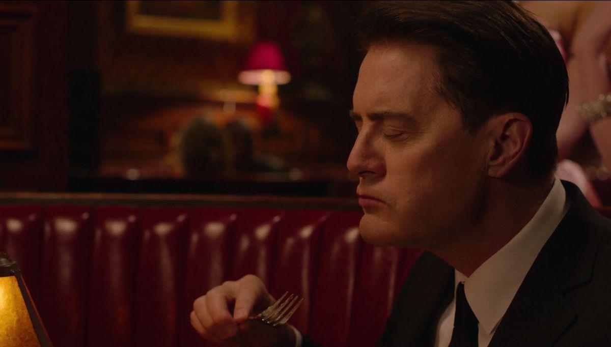 I segreti di Twin Peaks: Kyle Maclanchlan in una scena