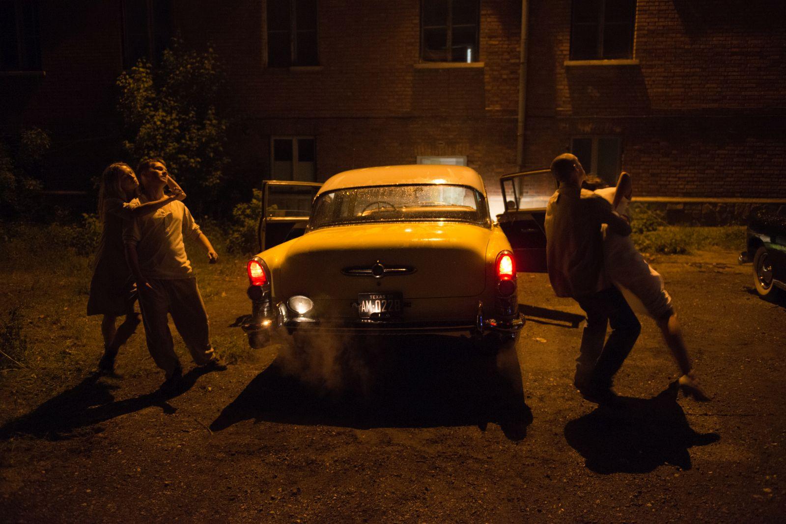 [Foto esclusiva] Leatherface: un momento concitato del film