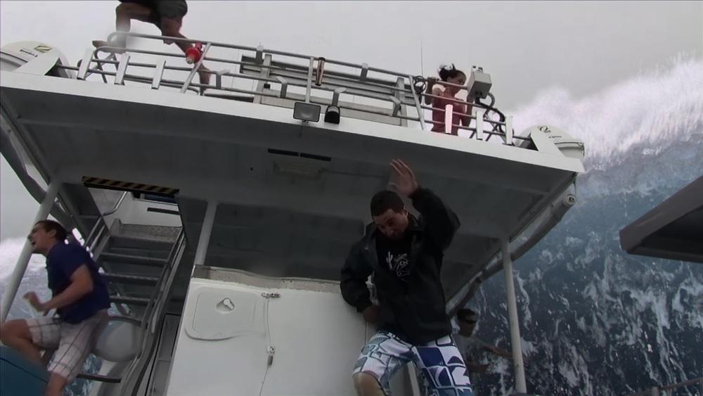 Open Water 3: una scena del film