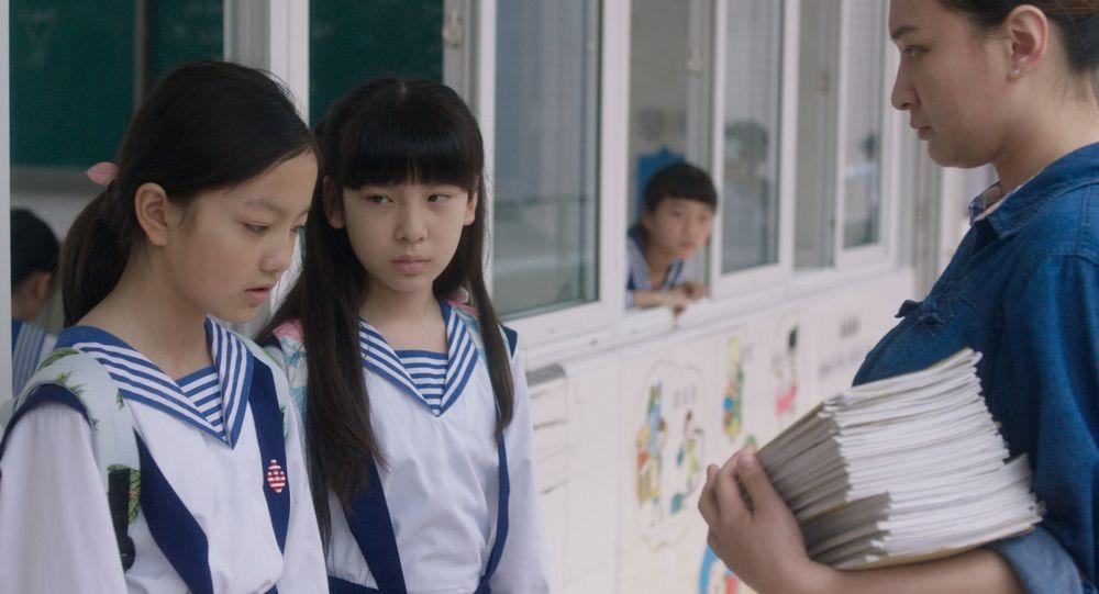 Angels Wear White: una scena del film