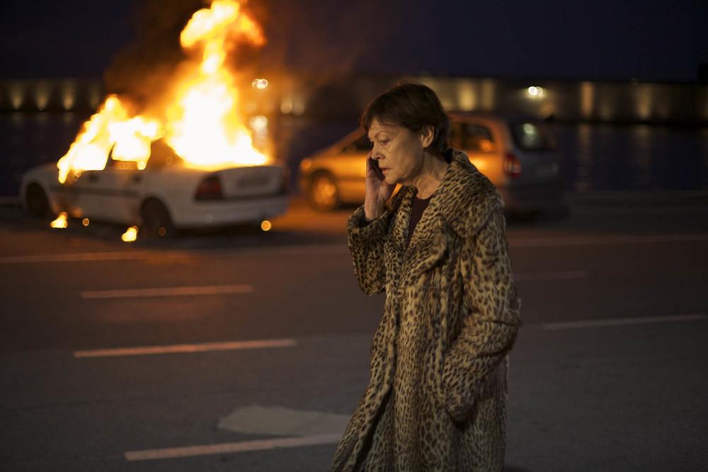 Espèces menacées: Brigitte Catillon in una scena del film