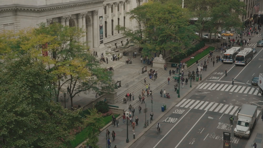 Ex Libris: New York Public Library, un'immagine tratta dal documentario