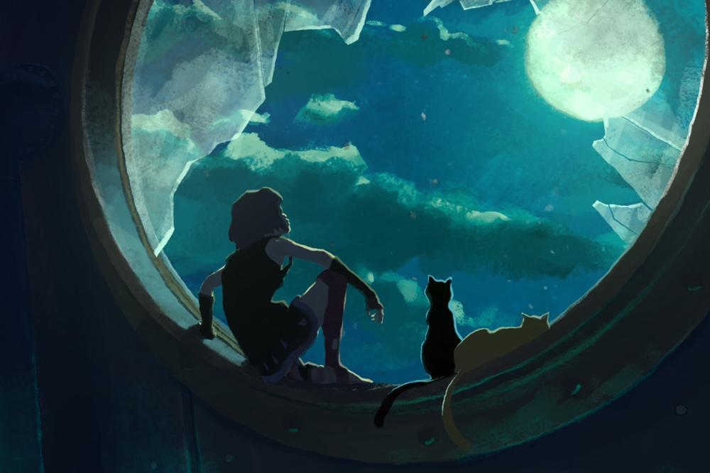 Gatta Cenerentola: una scena del film d'animazione