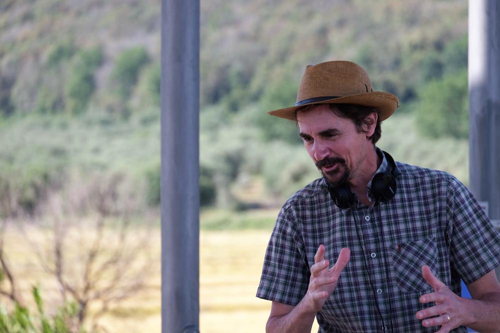 La vita in comune: il regista Edoardo Winspeare sul set del film