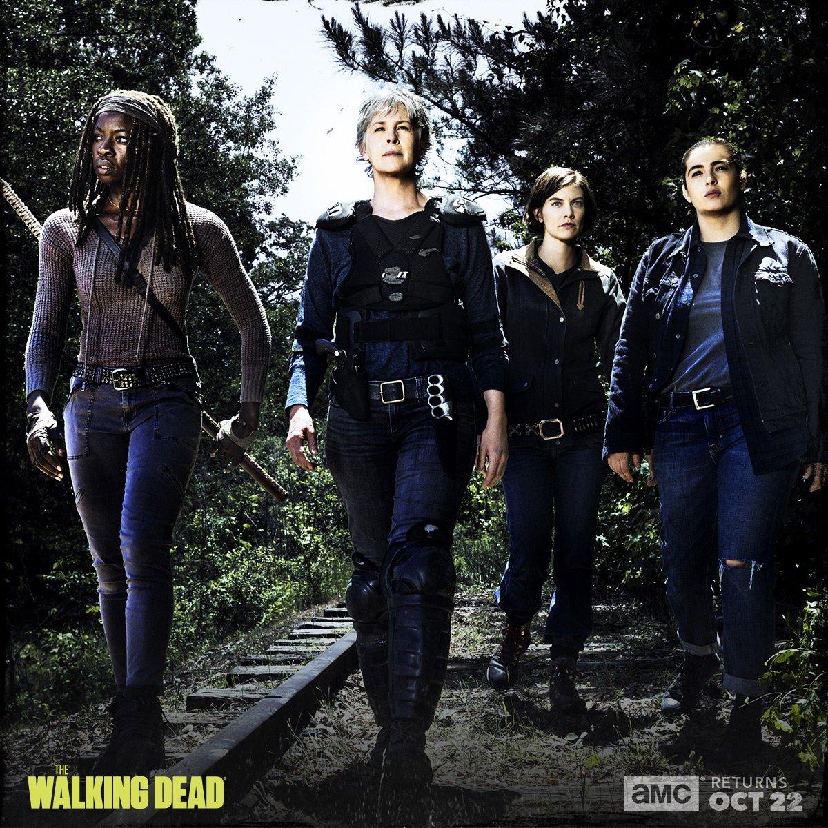 The Walking Dead: una delle foto promozionali dell'ottava stagione