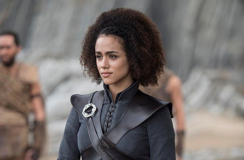Il trono di spade: Nathalie Emmanuel nell'episodio La giustizia della Regina