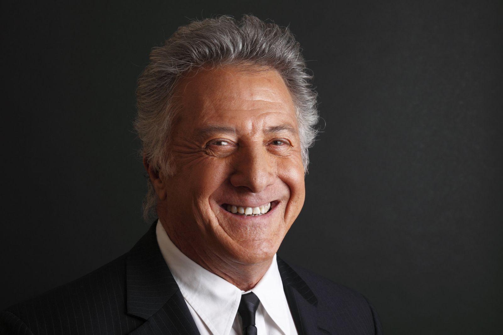 Un primo piano di Dustin Hoffman