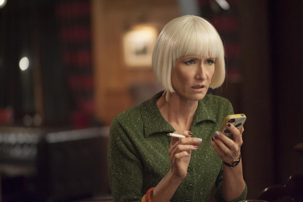 I segreti di Twin Peaks: Laura Dern in una scena