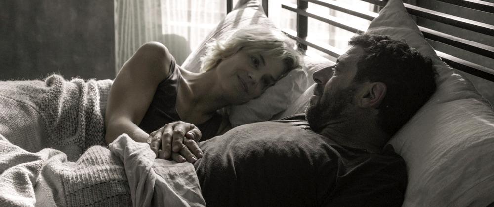 Una famiglia: Micaela Ramazzotti e Patrick Bruel in una scena del film