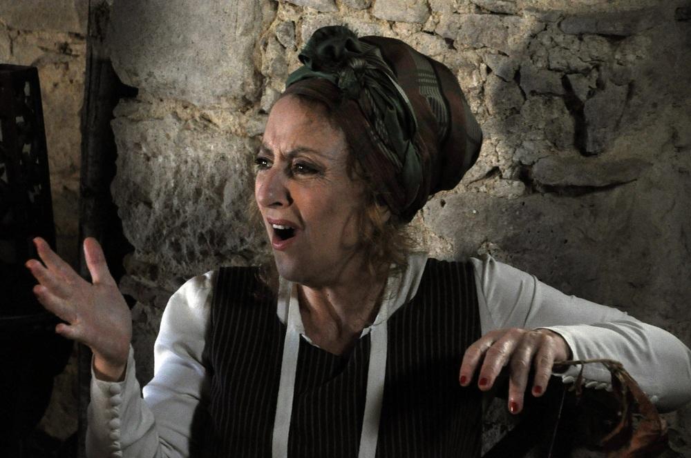 Veleni: Gea Martire in una scena del film