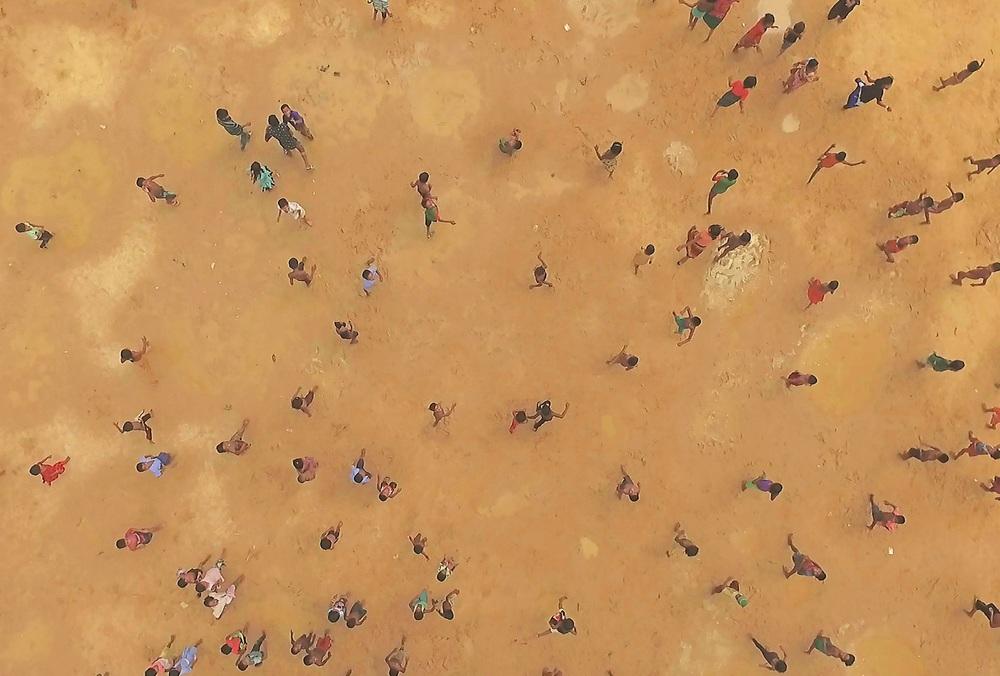 Human Flow: un'immagine tratta dal documentario