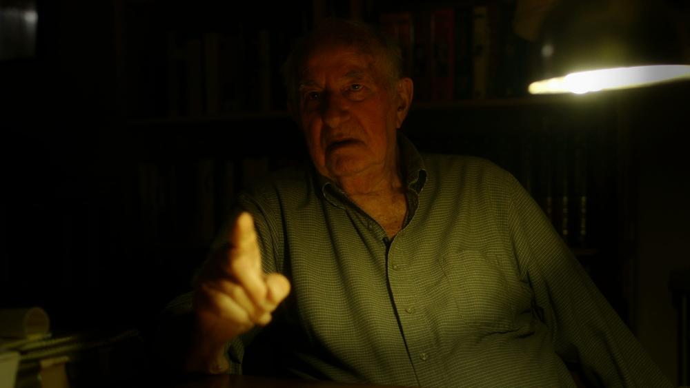 Il risoluto: un momento del documentario