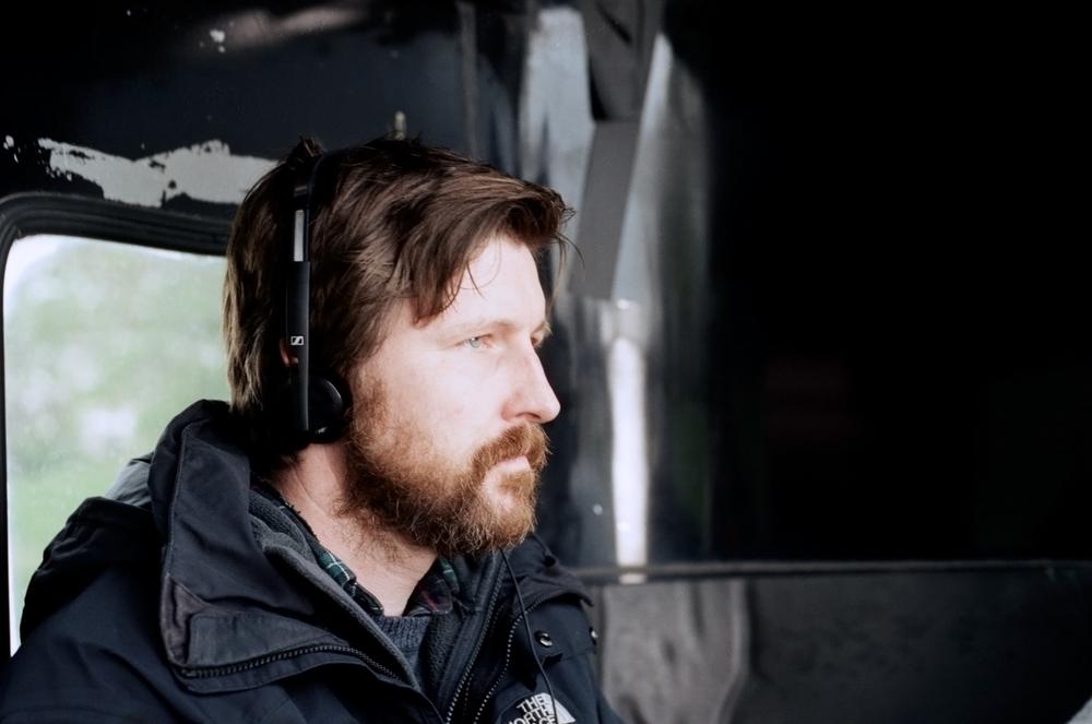 Lean on Pete: il regista Andrew Haigh sul set del film