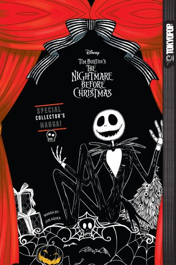 Nightmare Before Christmas: la copertina del fumetto sequel