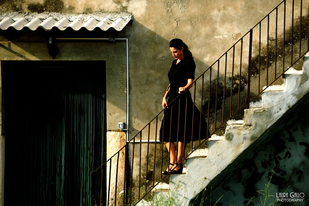 Veleno: Luisa Ranieri in un momento del film