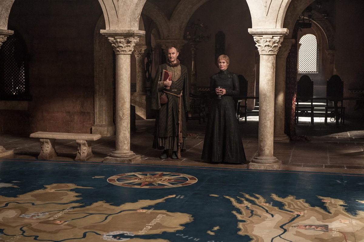 Il Trono di Spade: Cersei in una foto di The Spoils of War