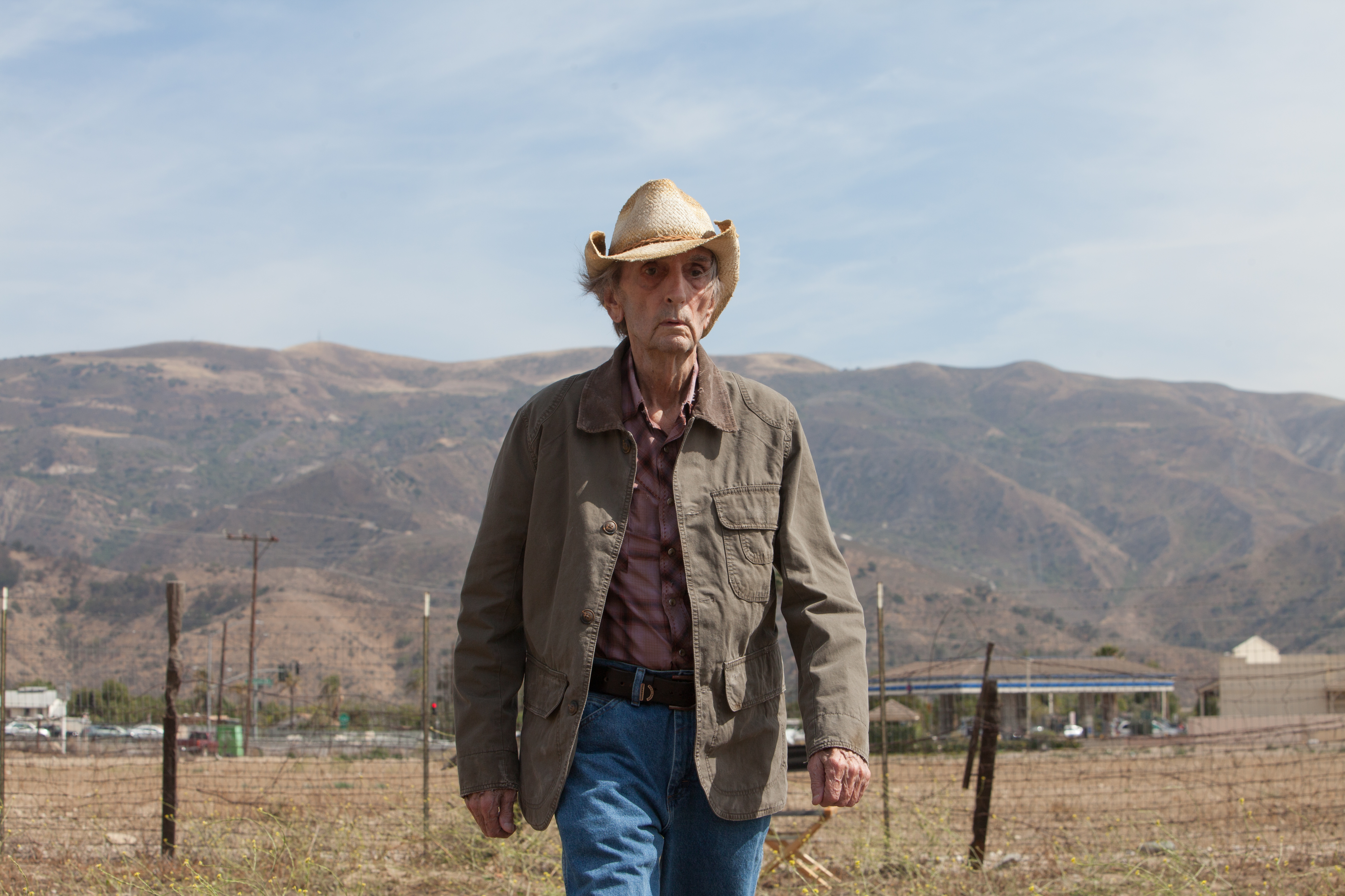 Lucky: Harry Dean Stanton in una scena