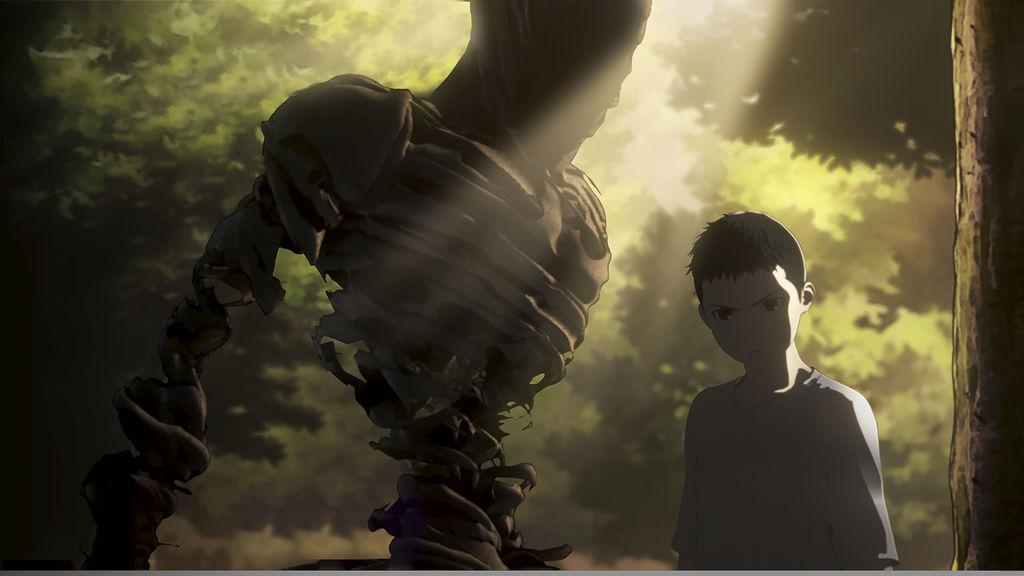 Ajin: Kei in una scena dell'anime
