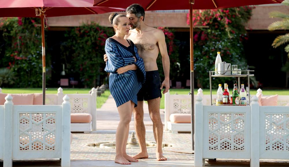 Controfigura: Filippo Timi e Valeria Golino in una scena del film
